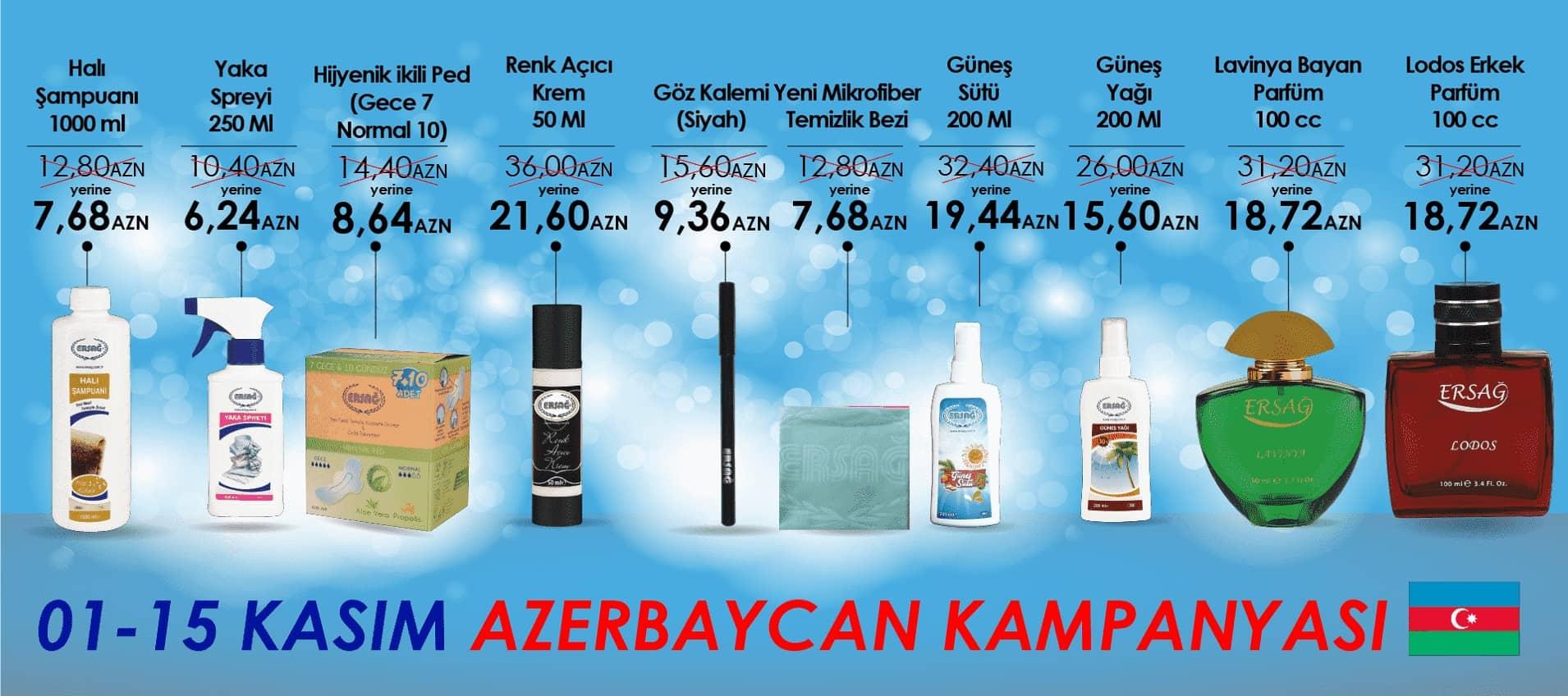 Ersağ 1-15 Kasım 2018 Azerbeycan Kampanyası